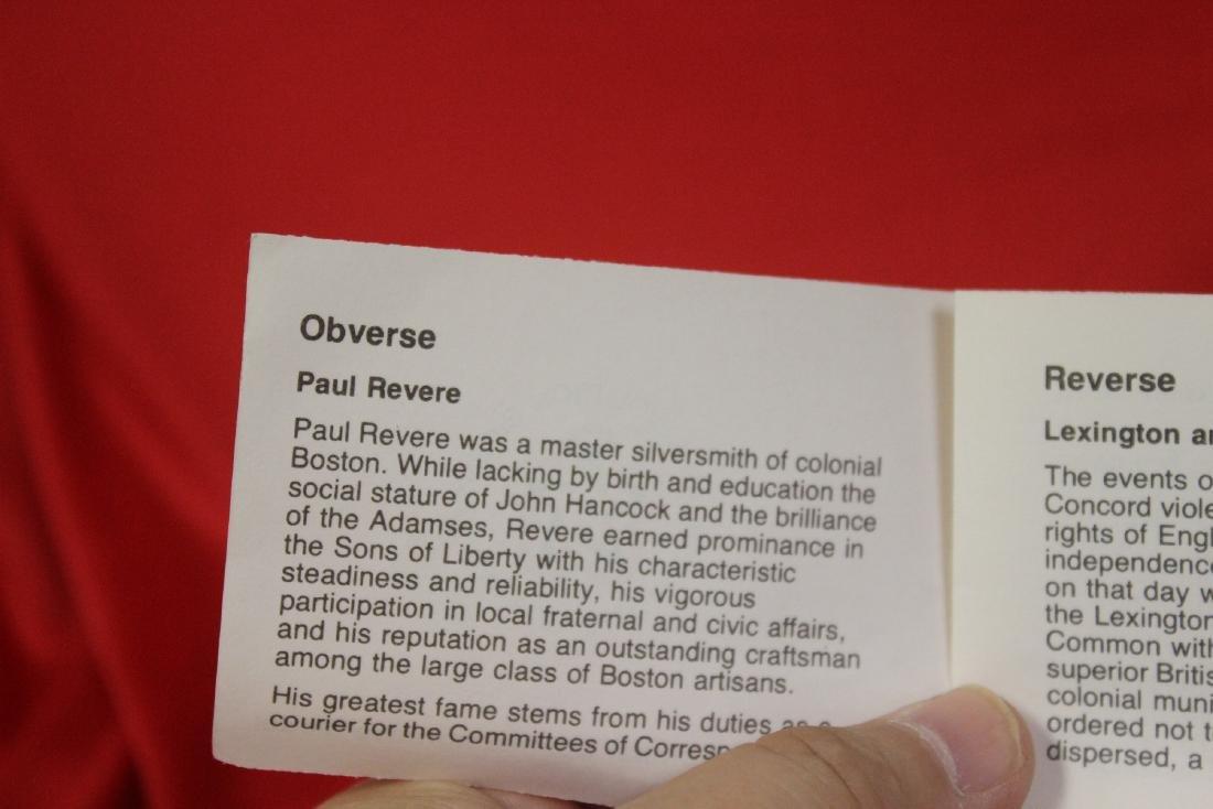 A Paul Revere 1975 Bicentennial Medal - 4