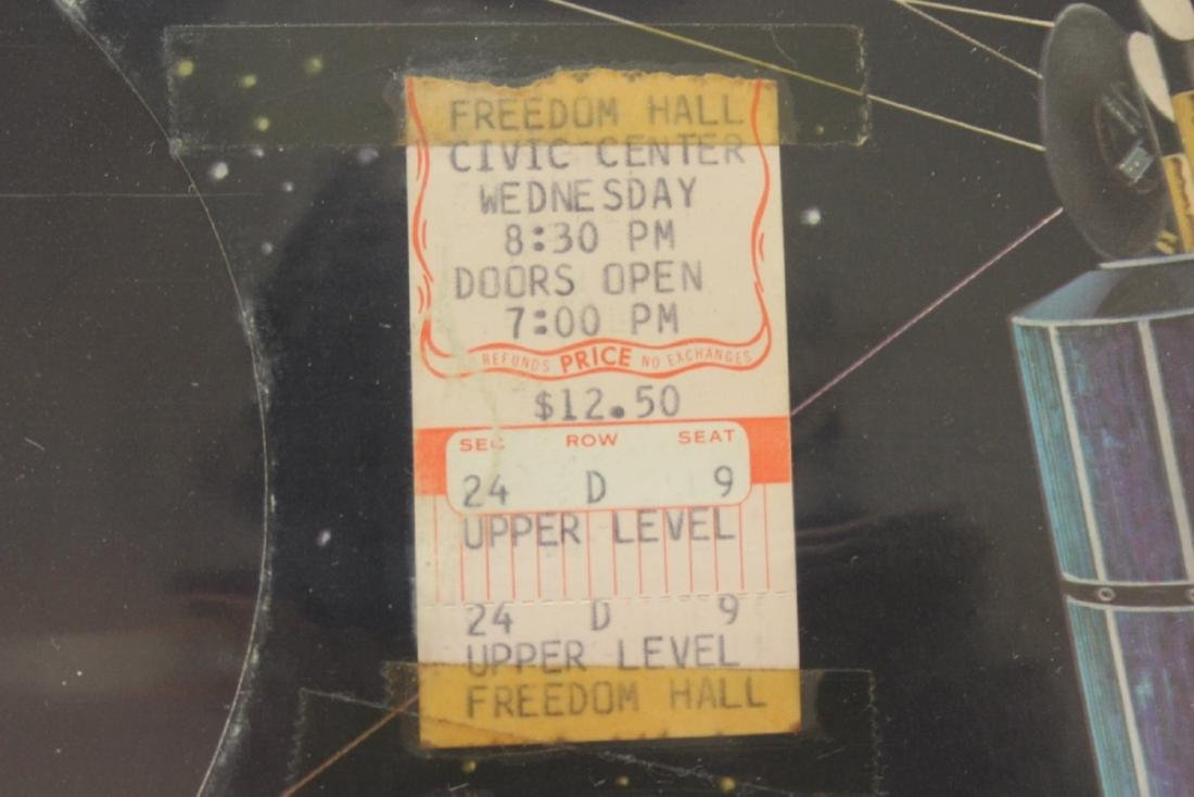 Rare Elvis Album with Two Used Elvis Concert Tickets - 2
