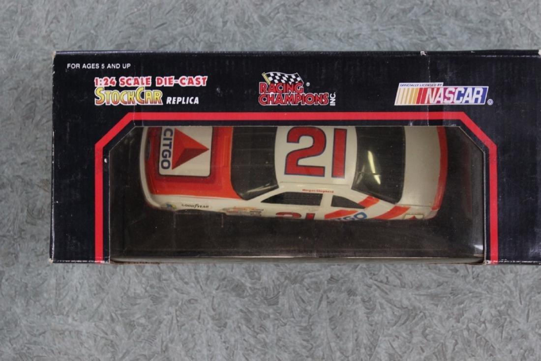 Die Cast Car Model - #21 Morgan Shepherd - 3