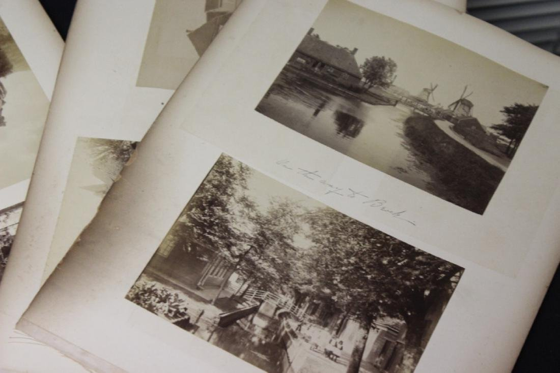Lot of Old Photographs of the Castles, etc