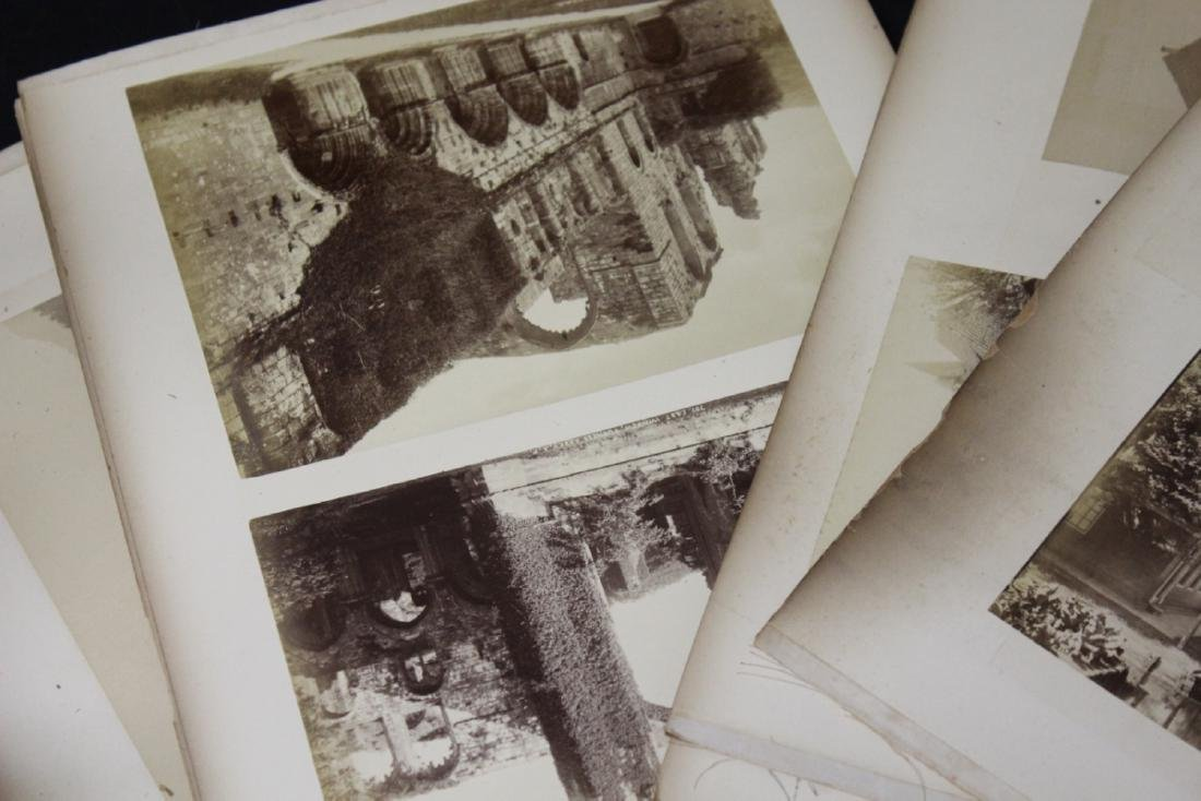 Lot of Old Photographs of the Castles, etc - 2