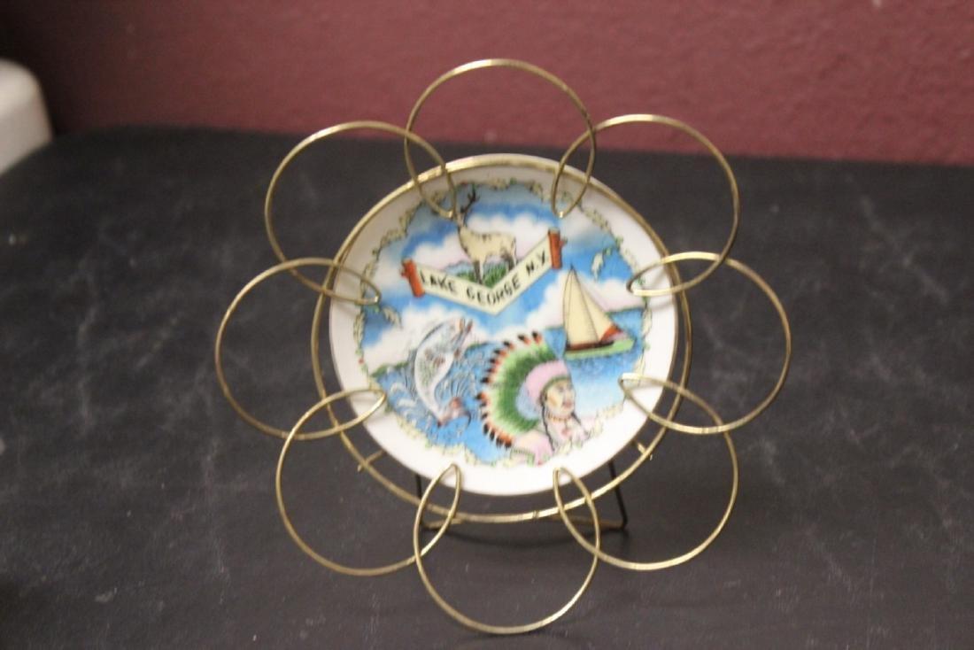 A Lake George, NY Souvenir Small Ceramic Plate