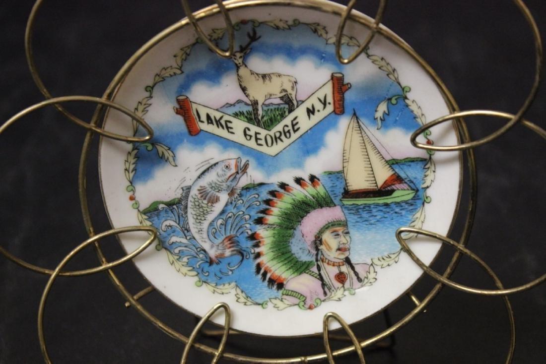 A Lake George, NY Souvenir Small Ceramic Plate - 2