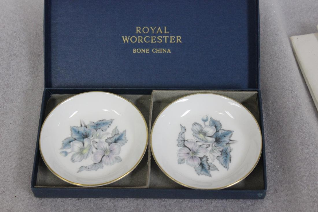 A Royal Worcester Bone China Dishes