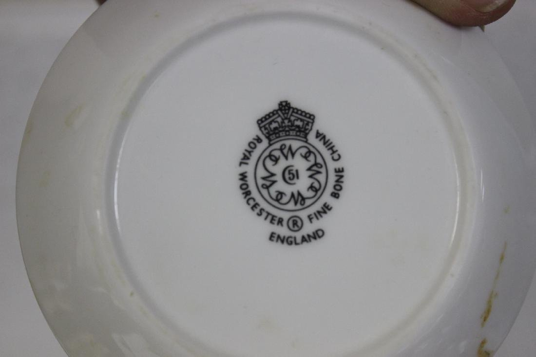 A Royal Worcester Bone China Dishes - 6
