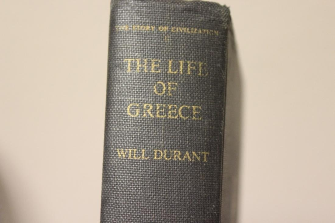 A Hardcover Book on Will Duant - 2
