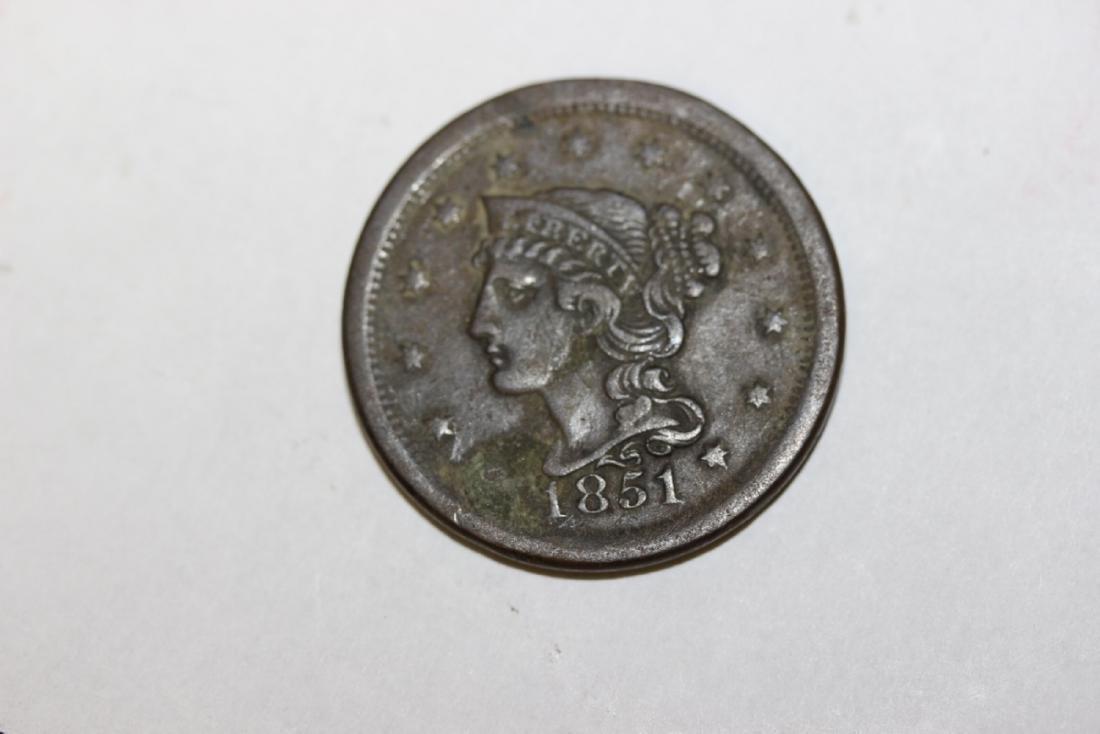A Large Cent - 1851