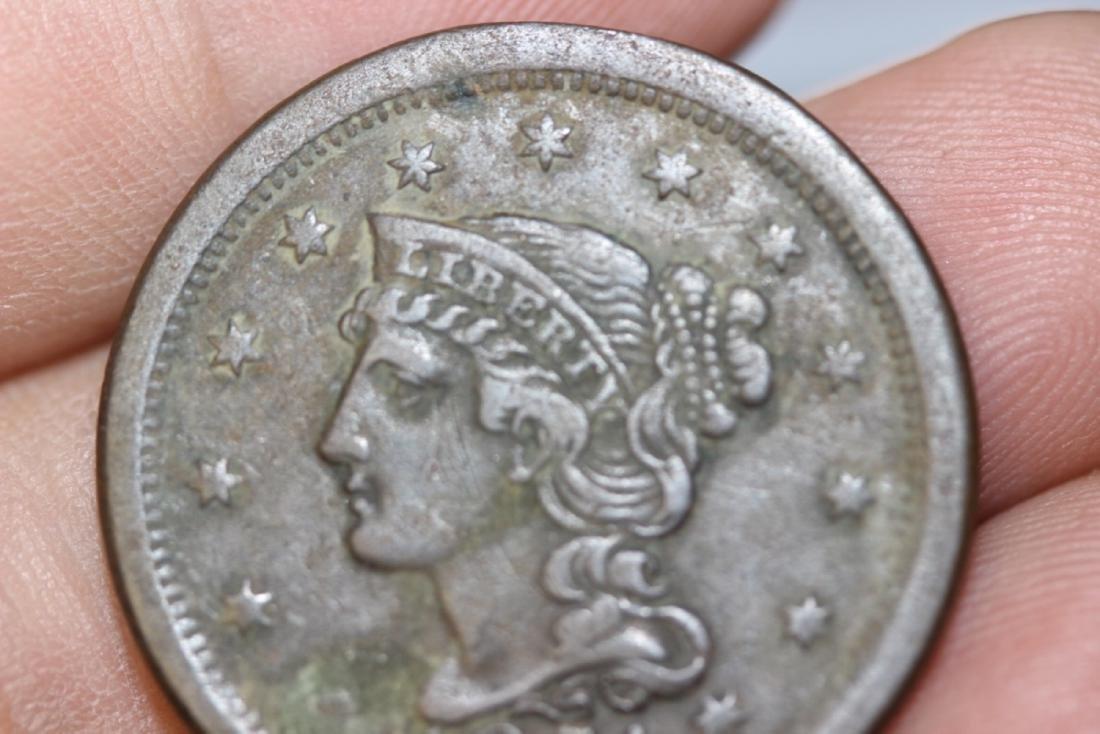 A Large Cent - 1851 - 4