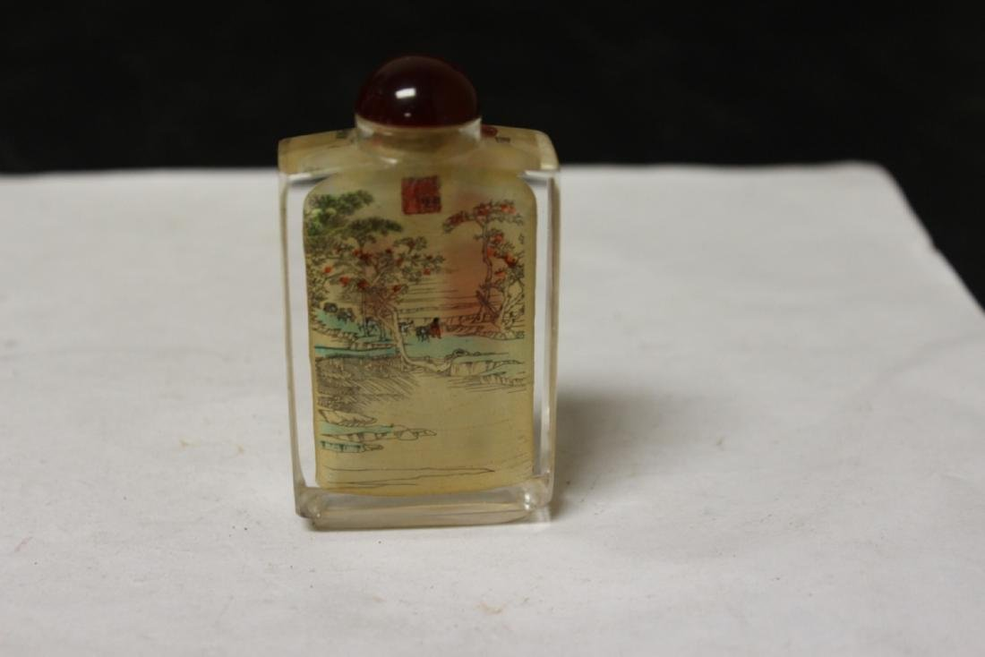 Crystal Chinese Snuff Bottle