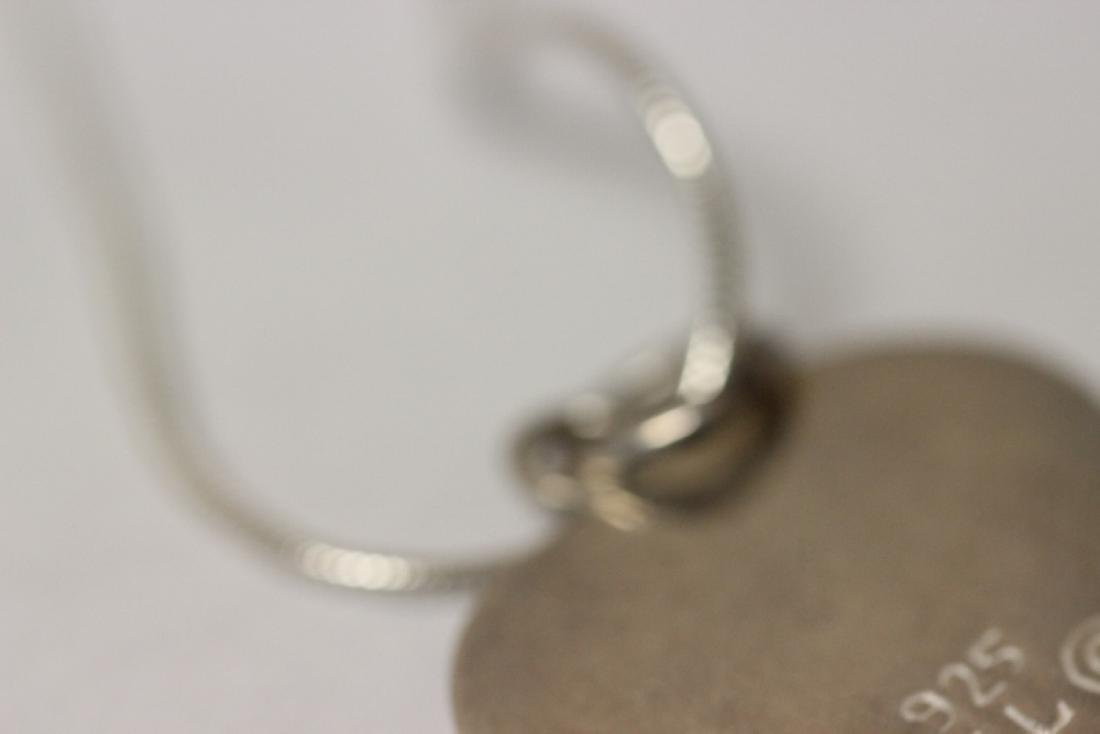 A Signed Sterling Pendant with Chain - 6