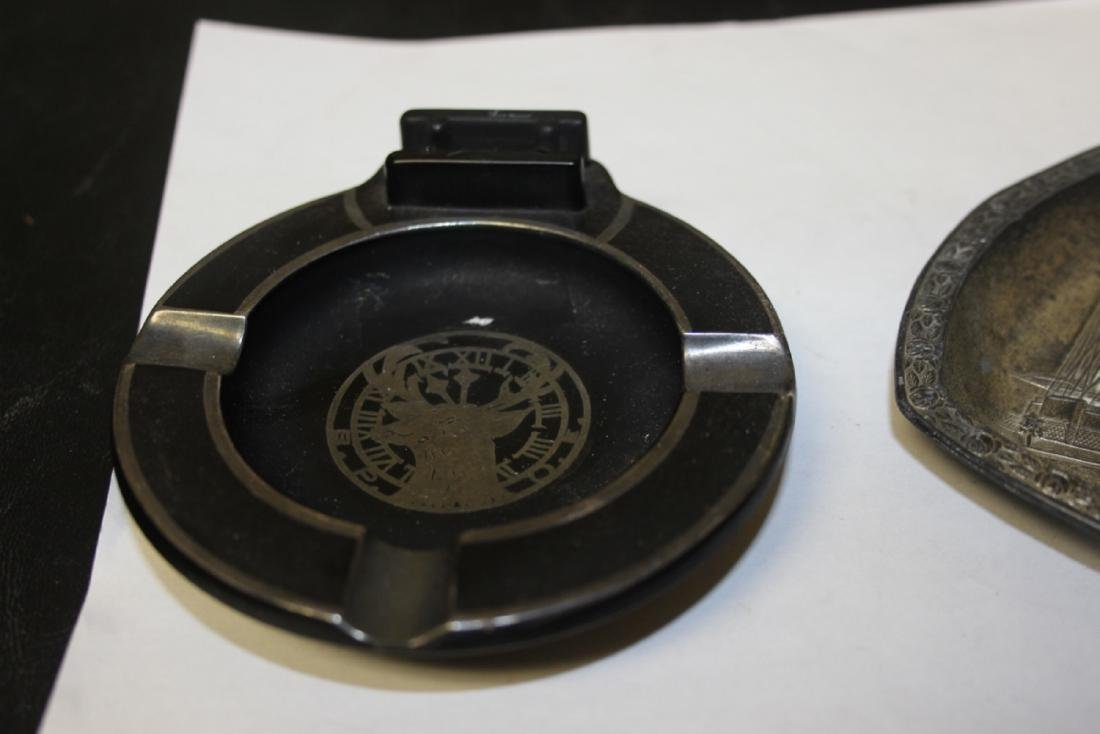 A Lot of Two Vintage Ashtray - 3