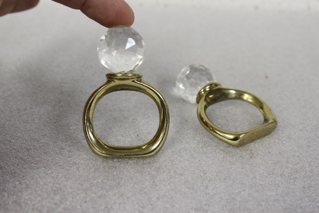 Lot of Two Napkin Rings - 2