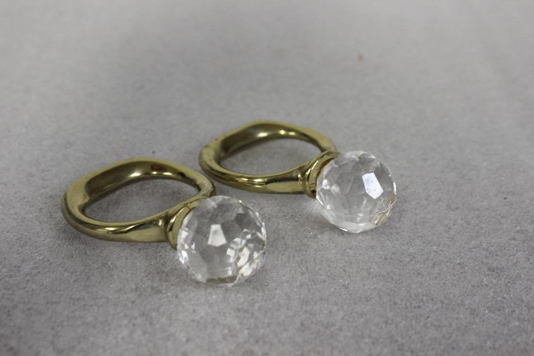 Lot of Two Napkin Rings - 4