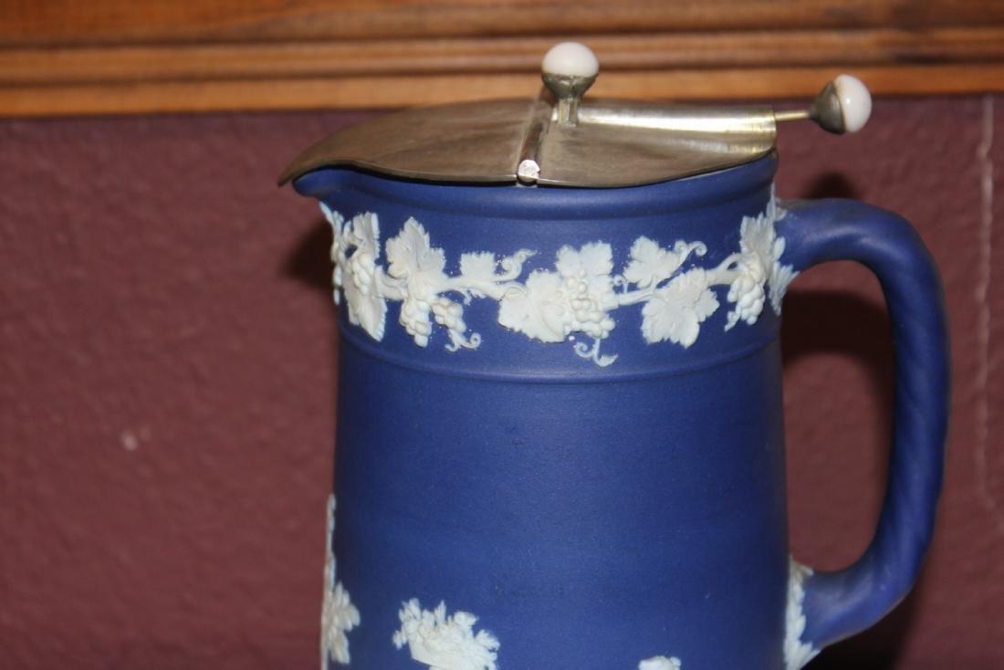 An Antique Wedgwood Jasperware Pitcher - 3