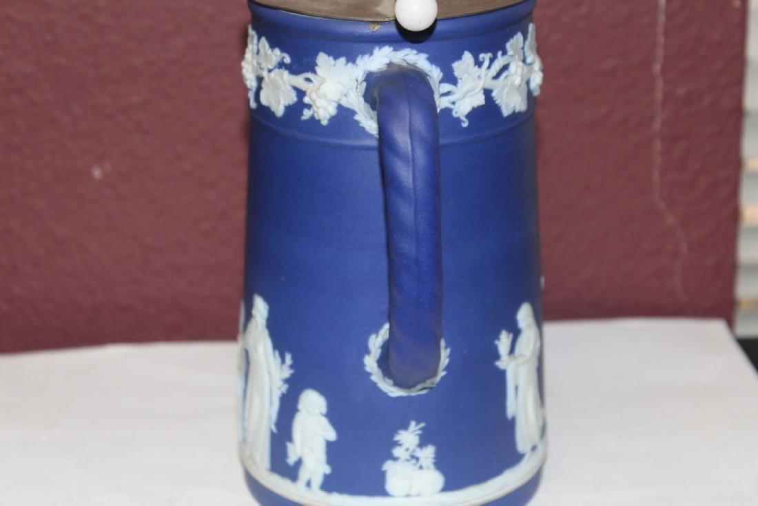 An Antique Wedgwood Jasperware Pitcher - 4