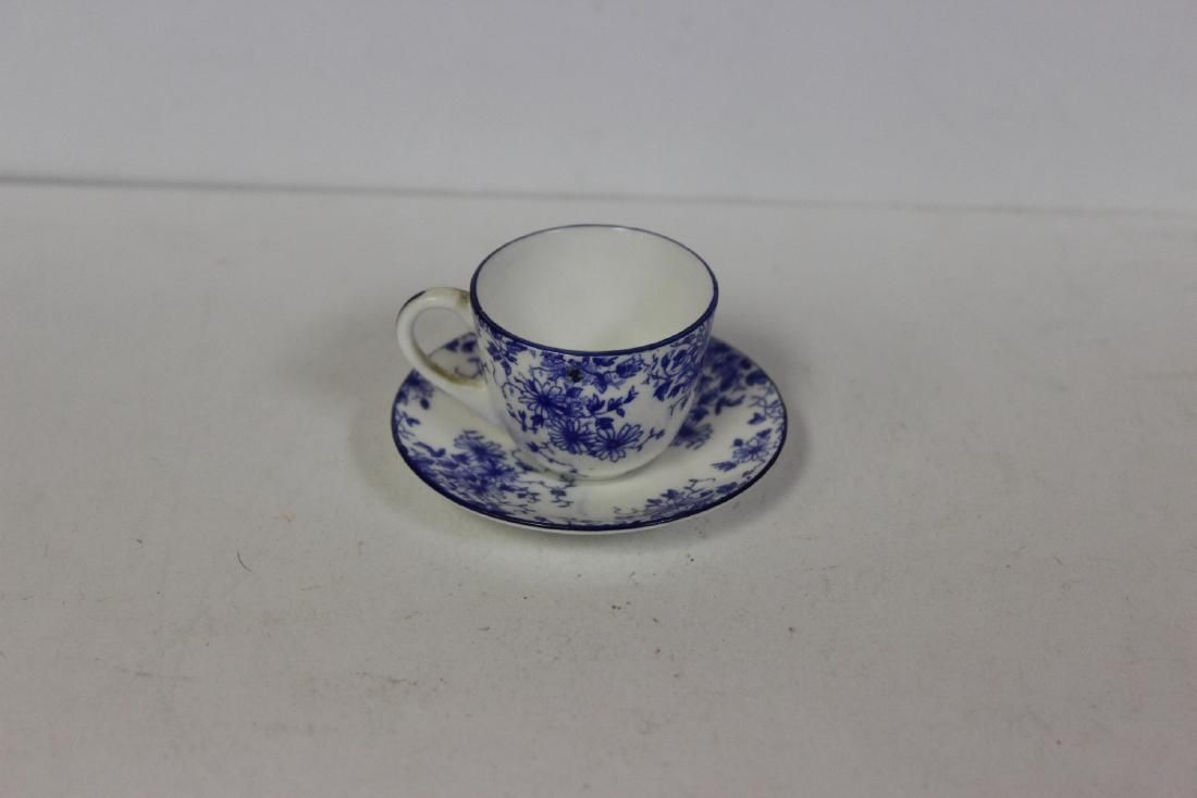 A Shelley England Miniature Cup and Saucer