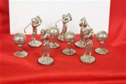 Lot of Heavy Metal Ball and Golfer