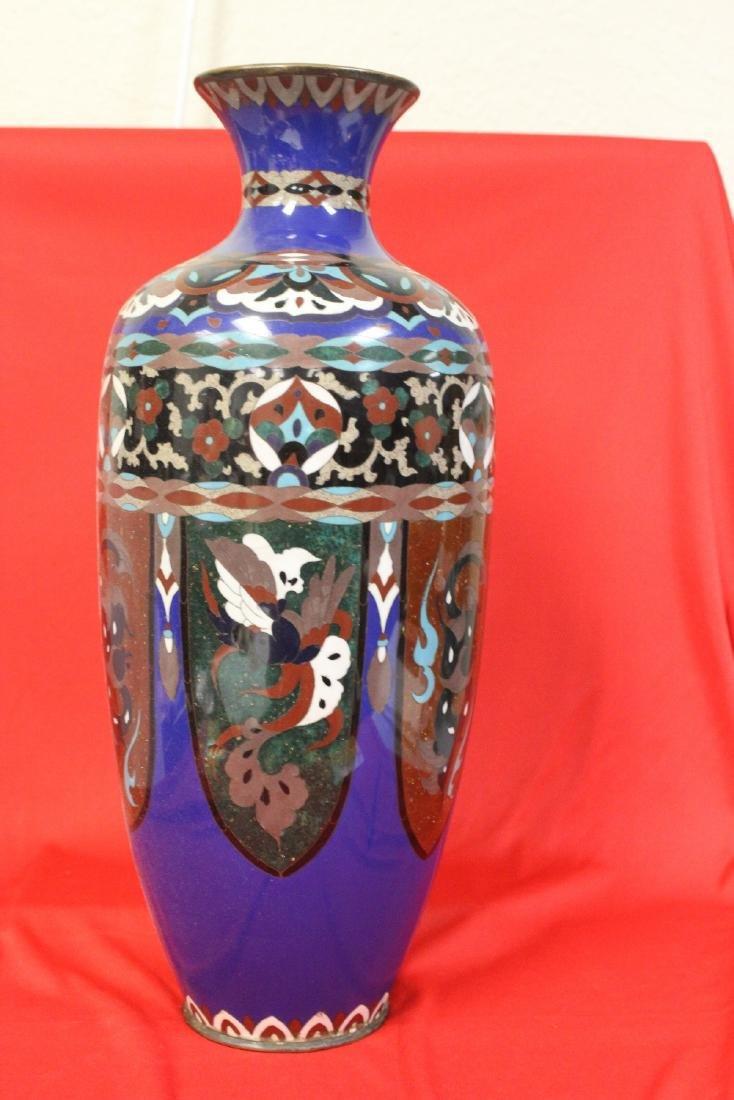 An Antique Japanese Cloisonne Vase