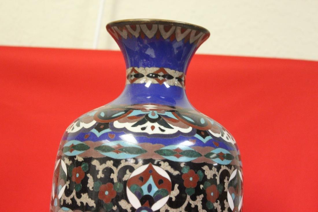 An Antique Japanese Cloisonne Vase - 2