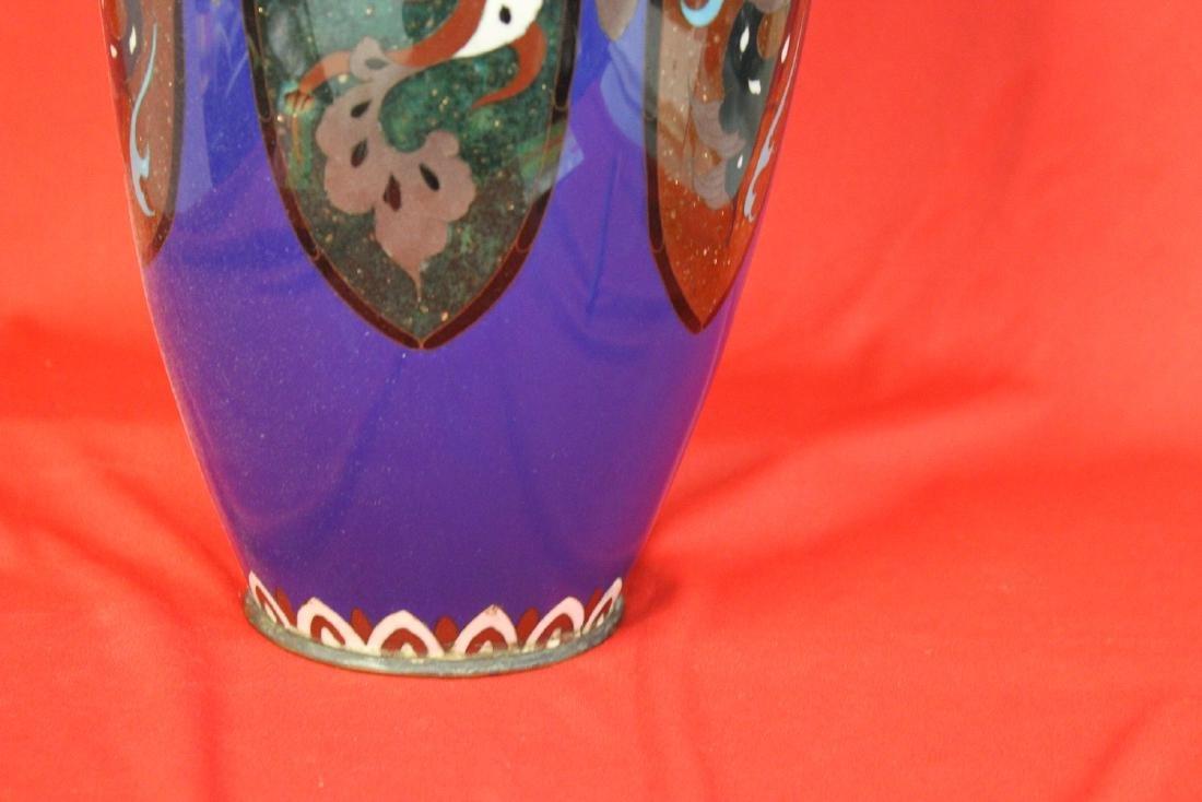 An Antique Japanese Cloisonne Vase - 4