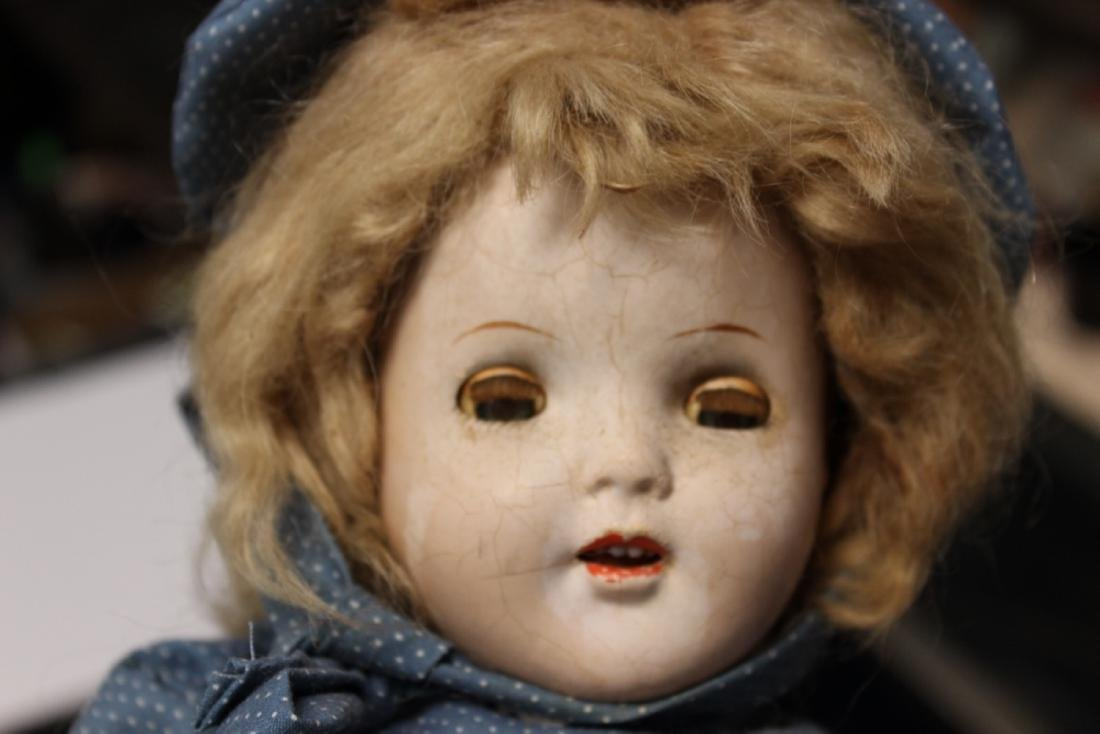 An Antique/Vintage Bisque Doll - 2