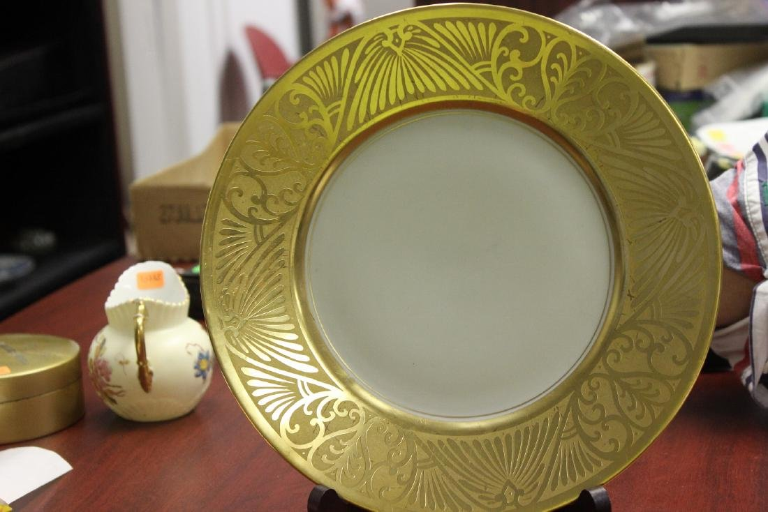 A Plate- Hand Painted Pickard