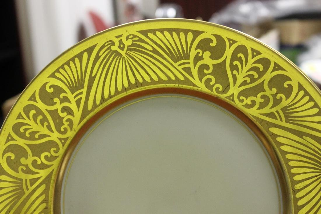 A Plate- Hand Painted Pickard - 2