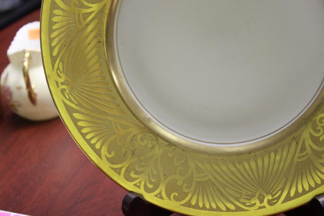A Plate- Hand Painted Pickard - 3