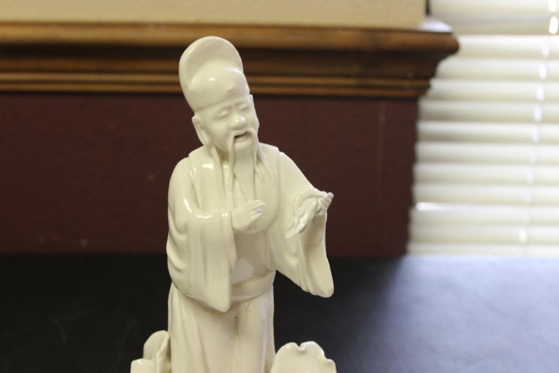 A Chinese Blanc de Chine Figure - Vintage - 2