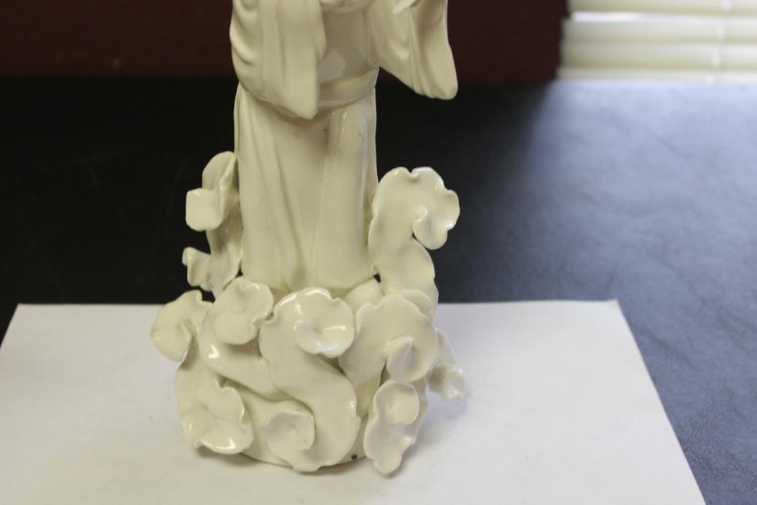 A Chinese Blanc de Chine Figure - Vintage - 3