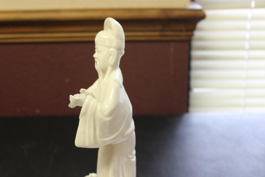 A Chinese Blanc de Chine Figure - Vintage - 6
