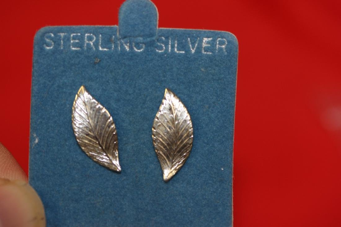 A Pair of Sterling Silver Earrings