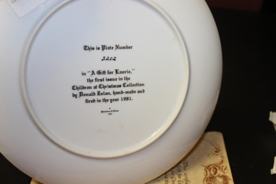 Collectors Plate by Zolan - With COA - 2