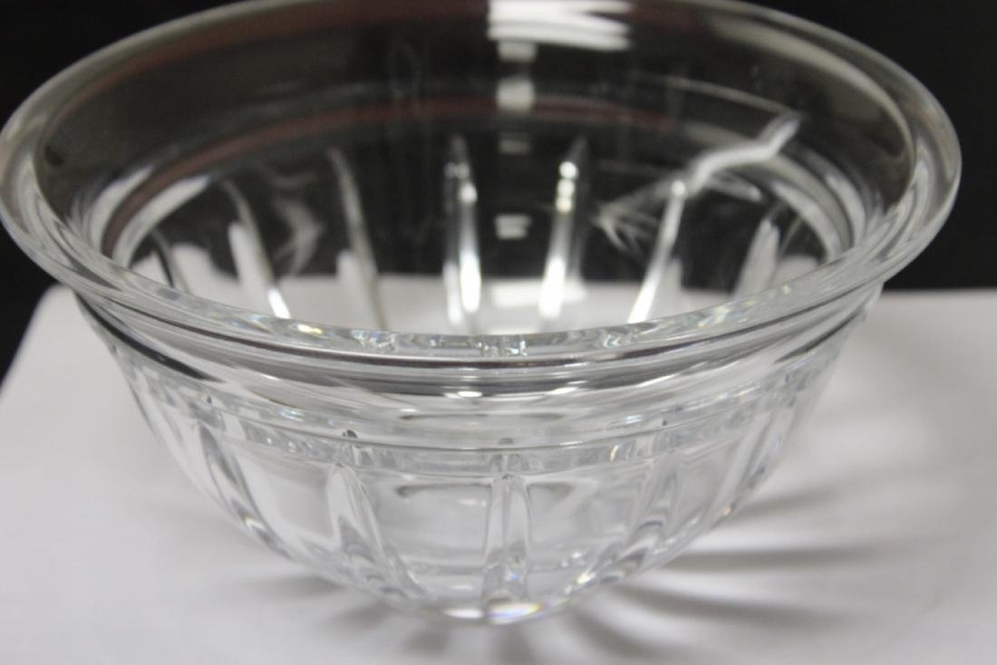 A Reed And Bortan (Signed) Crystal Bowl