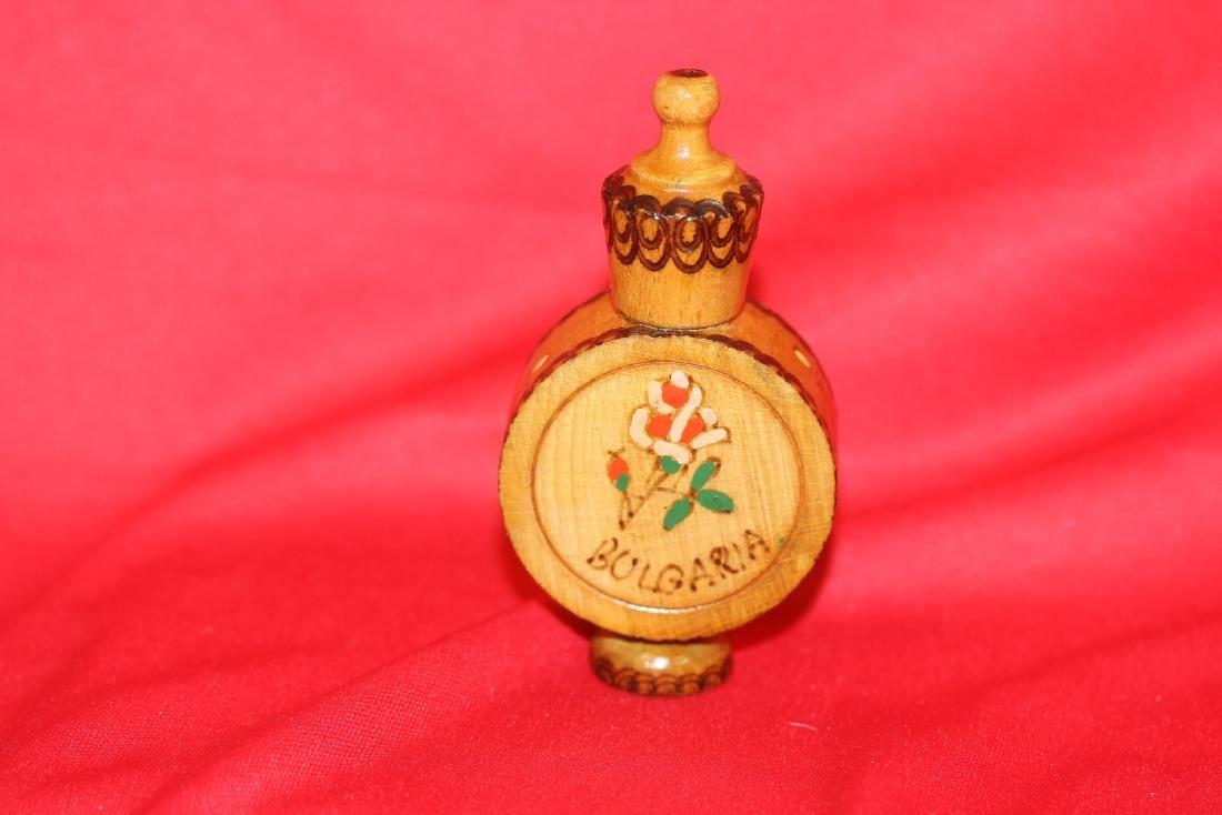 A Wooden Perfume? Bottle