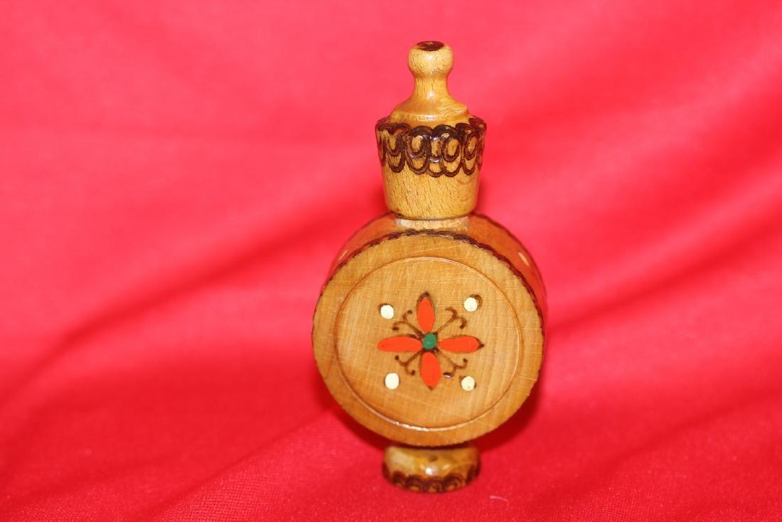 A Wooden Perfume? Bottle - 2