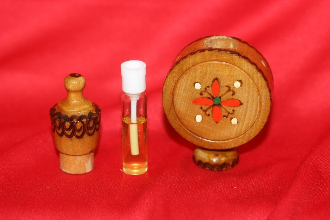 A Wooden Perfume? Bottle - 7