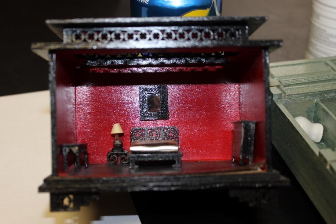 A Miniature Doll House Furniture