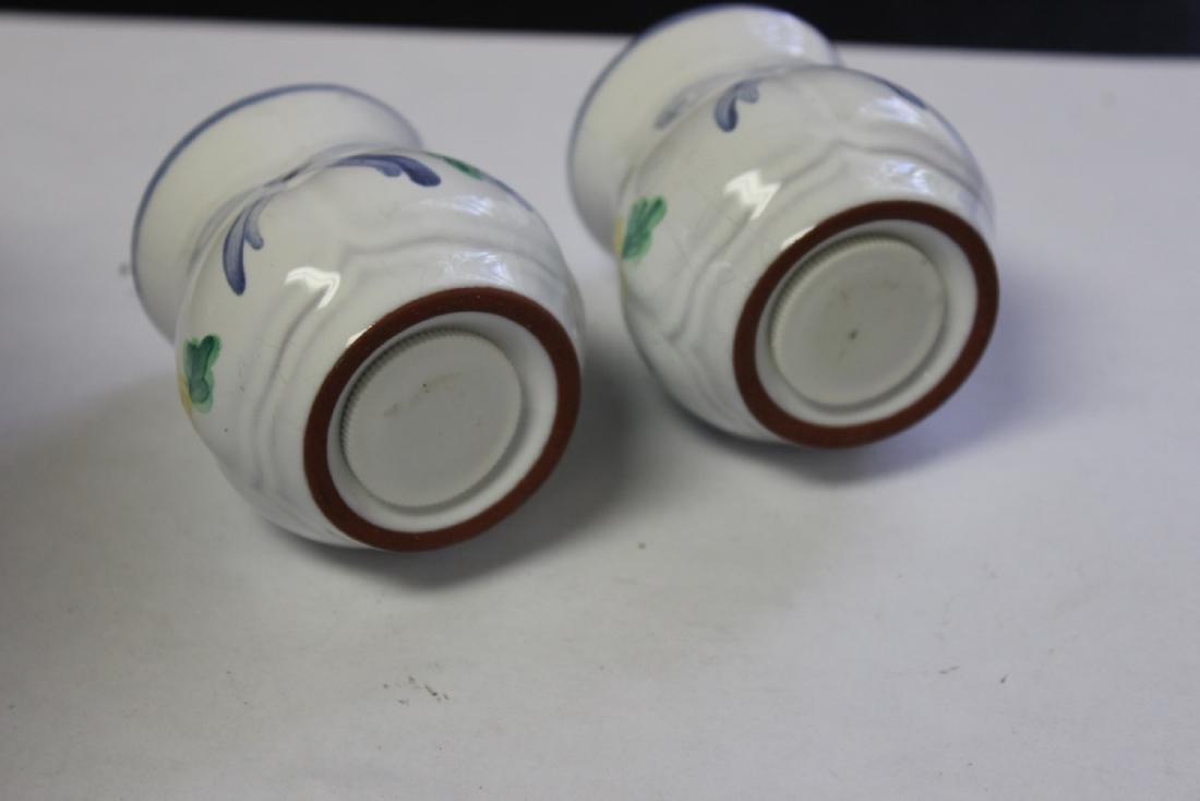 Pair of Vintage Salt and Pepper Shakers - 2
