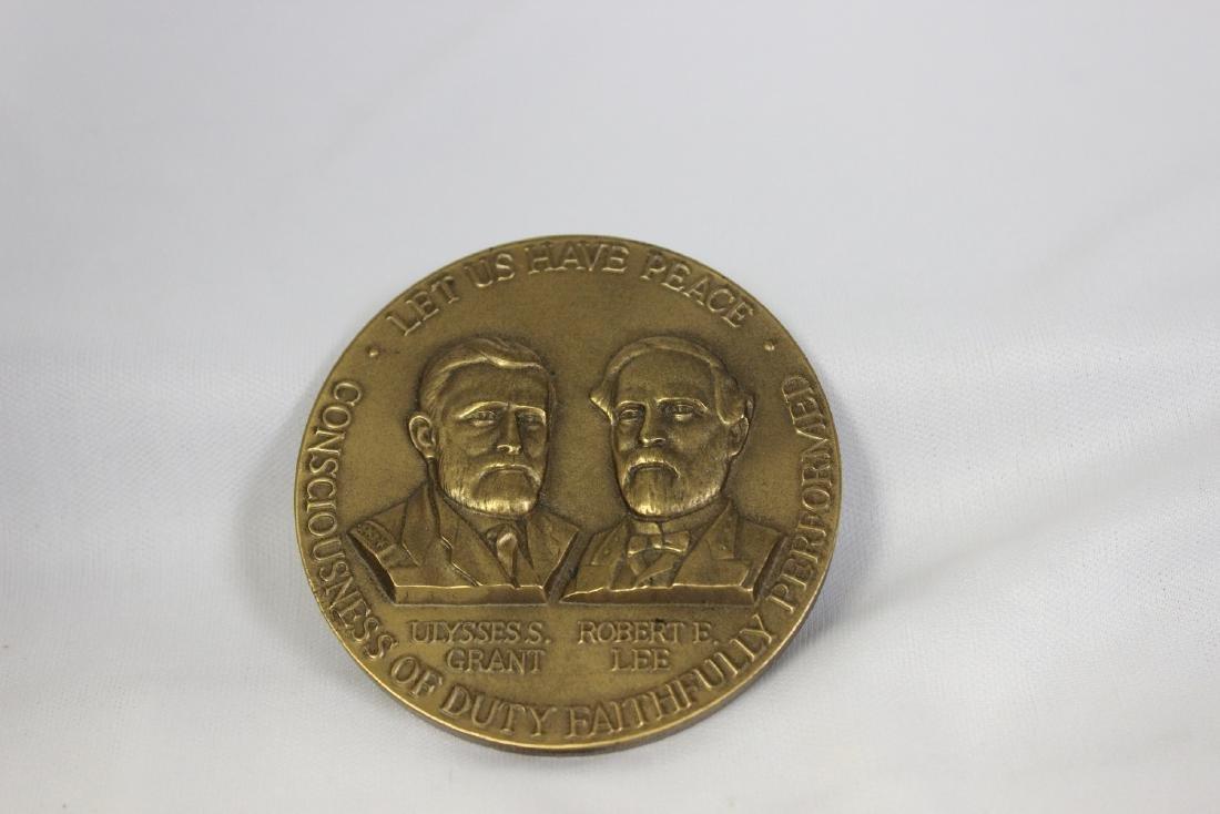 A Bronze Civil War Commemorative Medal