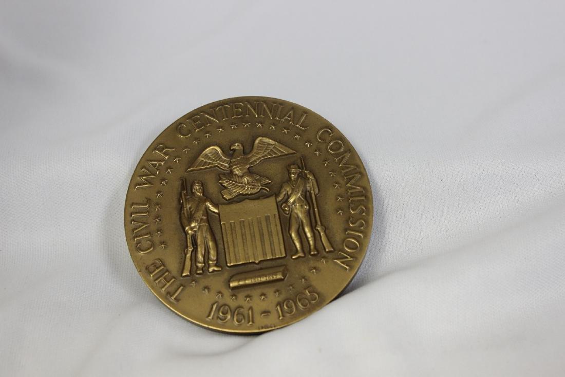 A Bronze Civil War Commemorative Medal - 2