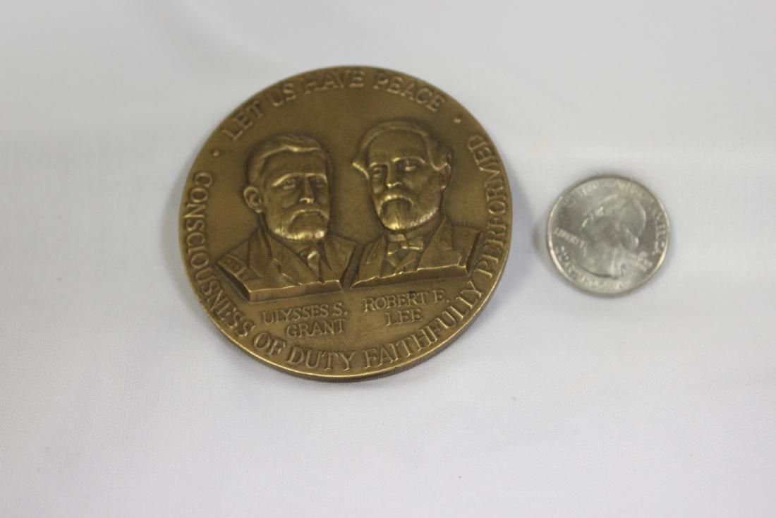 A Bronze Civil War Commemorative Medal - 3