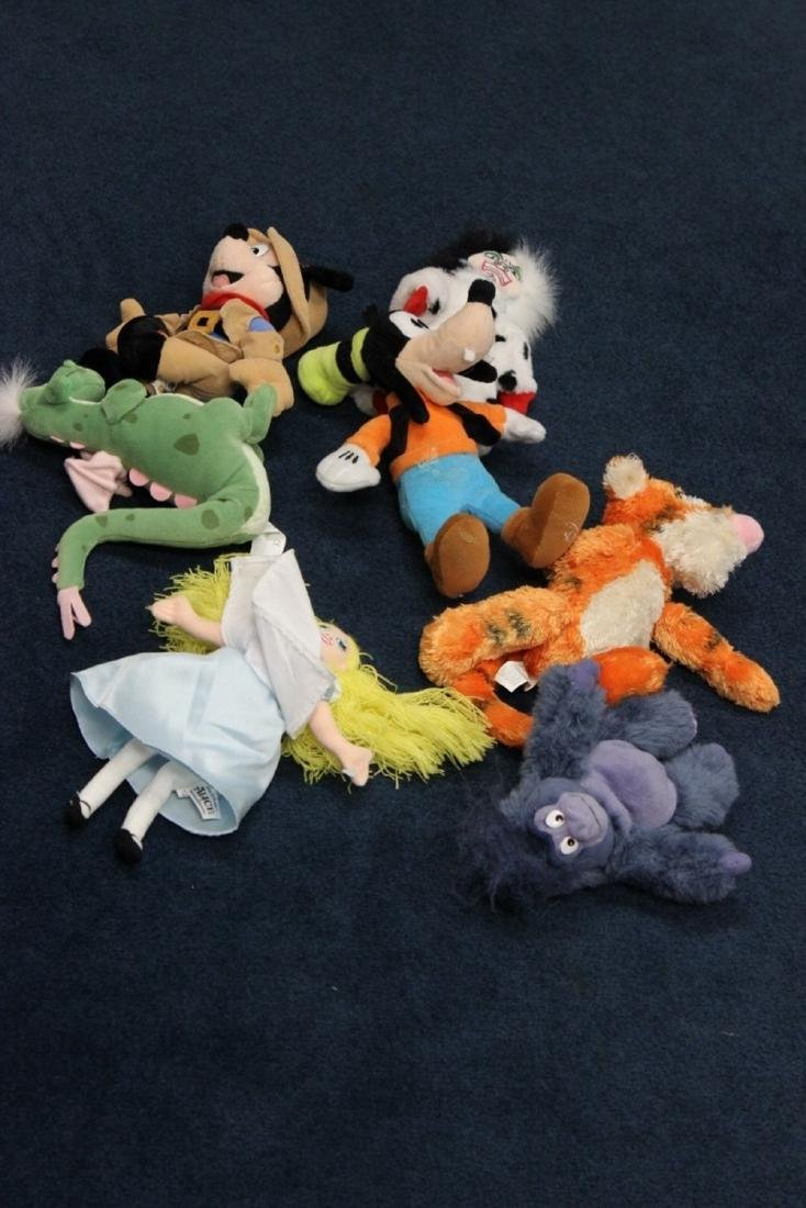 Lot of 7 Disney Stuffed Animals plus 4 Other