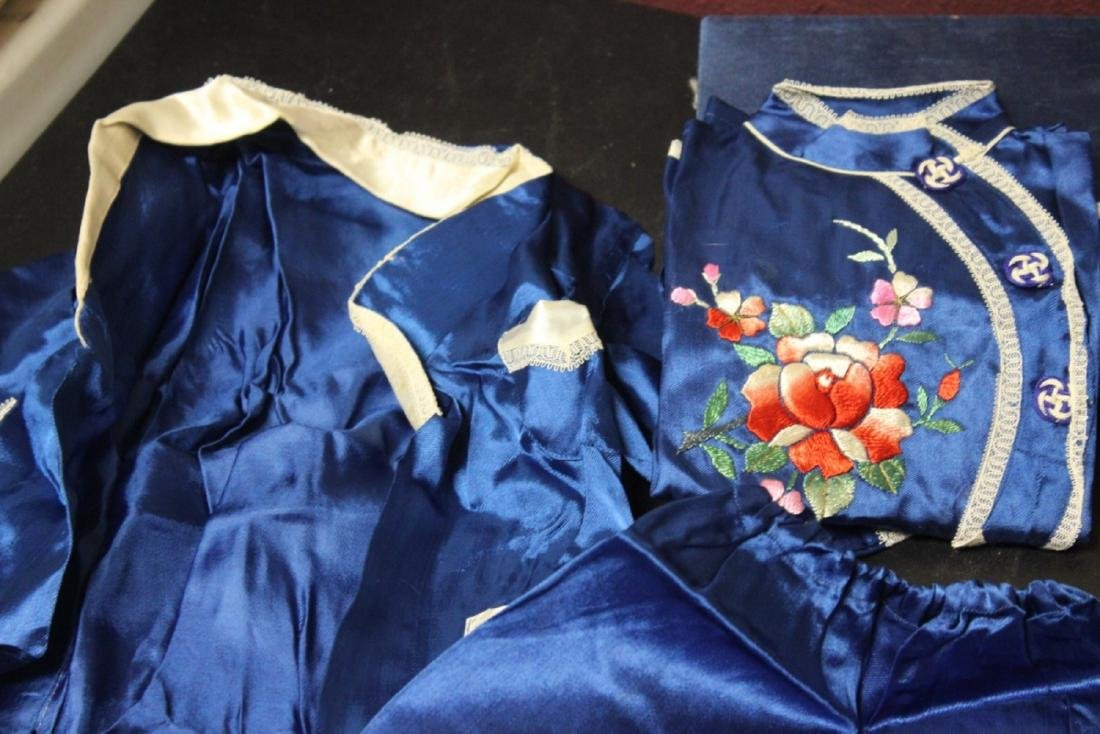 A Vintage Chinese Baby or Small Child Set of Clothing