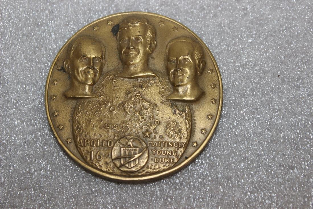 An Apollo 16 Bronze Medal