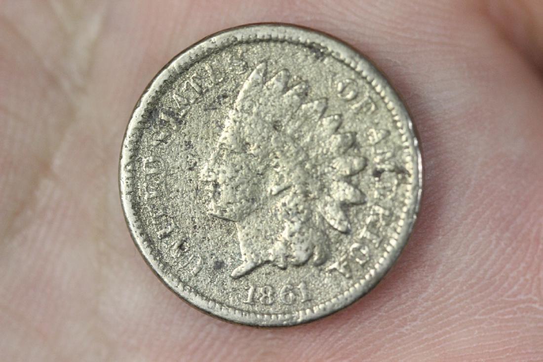 An 1861 Civil War Era Indian Head Penny