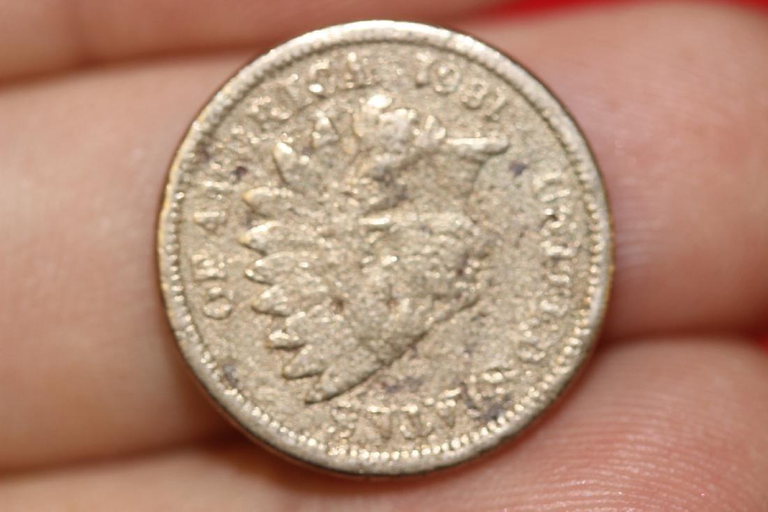 An 1861 Civil War Era Indian Head Penny - 4