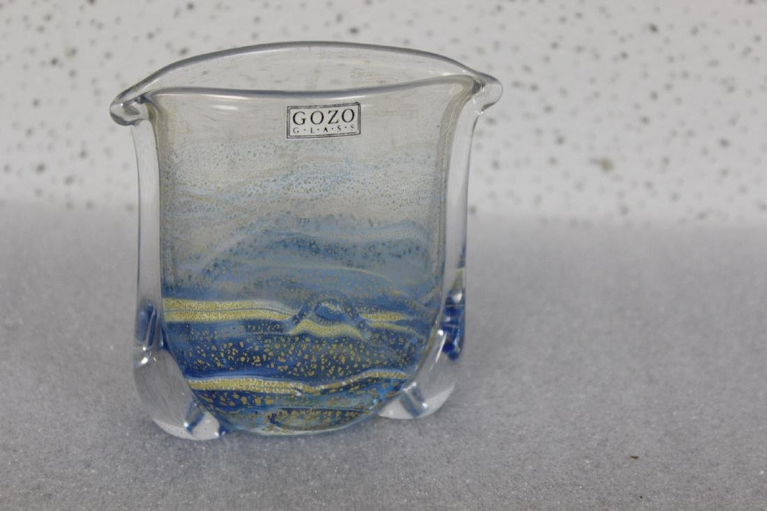 A Gozo Art Glass Vase