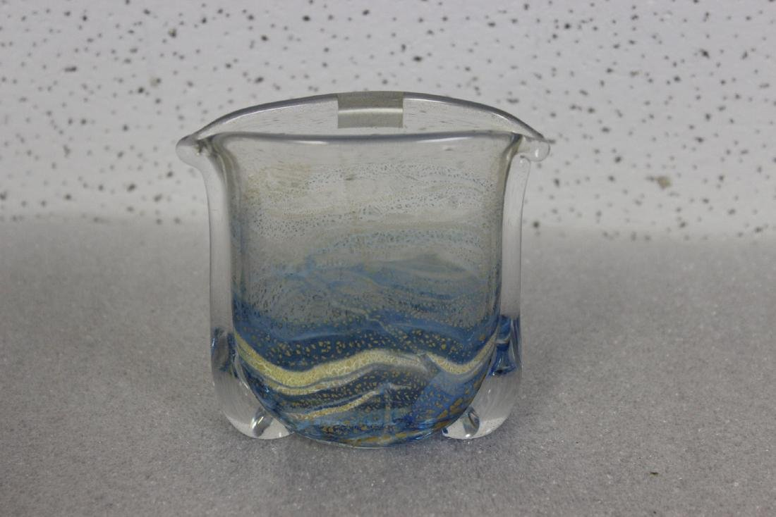 A Gozo Art Glass Vase - 3