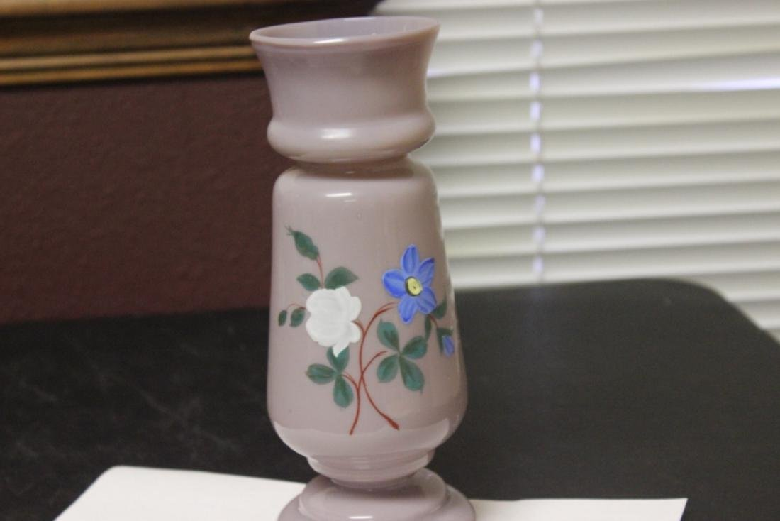 A Bristol Glass Vase